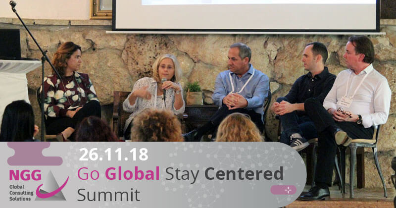 כנס Go Global – Stay Centered Summit